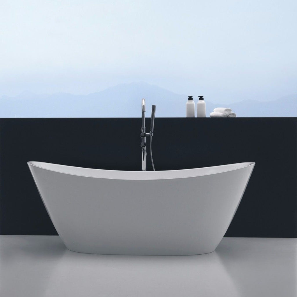 Harmony High Back Freestanding Bath Tub