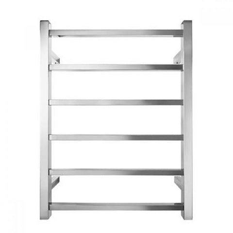 Square Heated Towel Rail 700 mm
