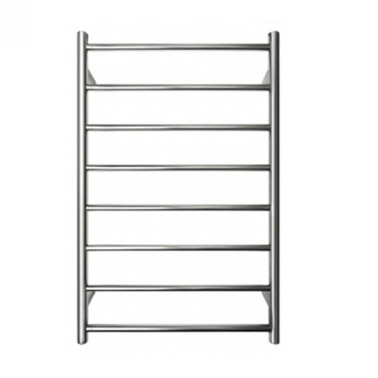 Round Heated Towel Rail 600 mm