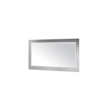 Smoke Frame Designer Mirror 900 x 750 mm