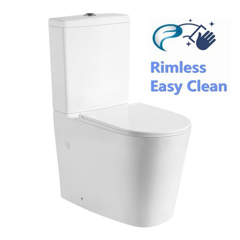 Livis 022 Rimless Wall Faced Toilet Suite