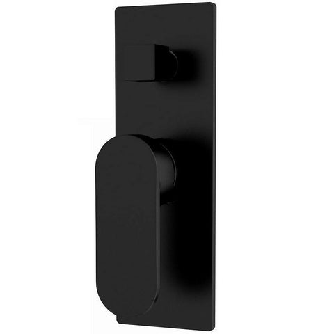 Ecco Black Wall Diverter