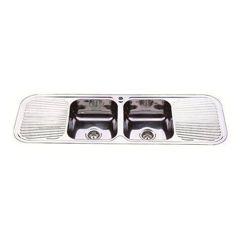 1500 x 500 x 180 mm Kitchen Sink