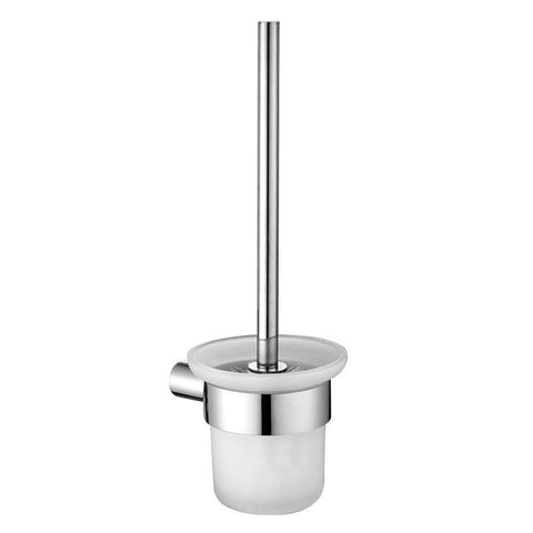 Heba Glass Toilet Brush Holder