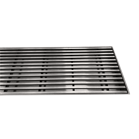100 mm Wide Linear Floor Grate No Drain