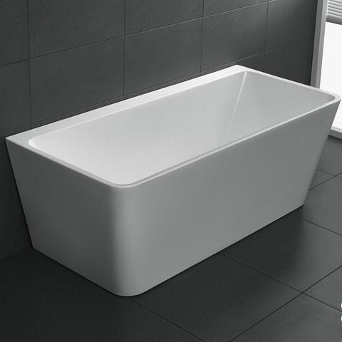 1700 mm Carmen Back to Wall Freestanding Bath Tub