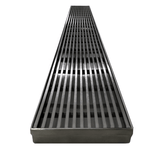 600 mm Wide Linear Floor Grate No Drain