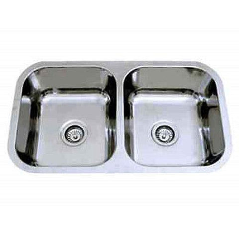 780 x 480 x 170 mm Kitchen Sink Double Bowl