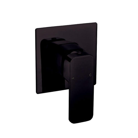Curva Black Wall Mixer