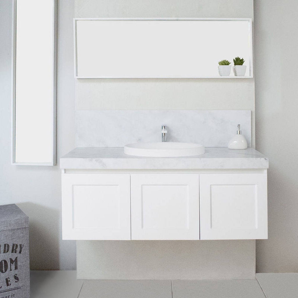 White London 600 mm Wall Hung Vanity