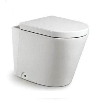 Alzano R&T Rimless In Wall Toilet Suite