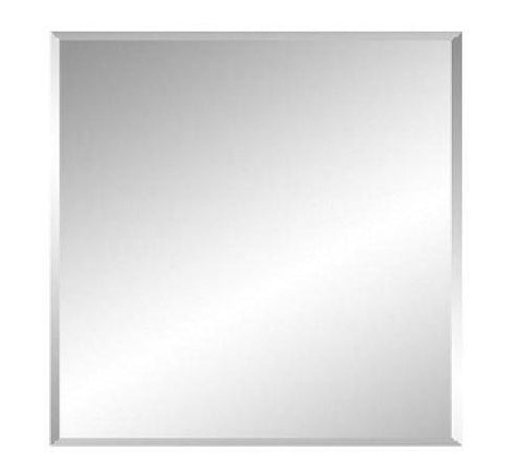 600 x 450 x 6 mm Bevel Edge Mirror