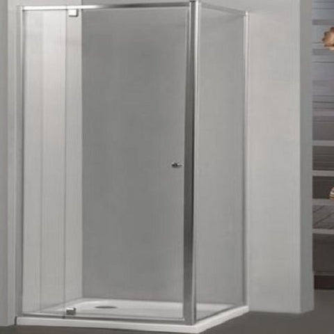 Square Pivot Framed Shower Screen