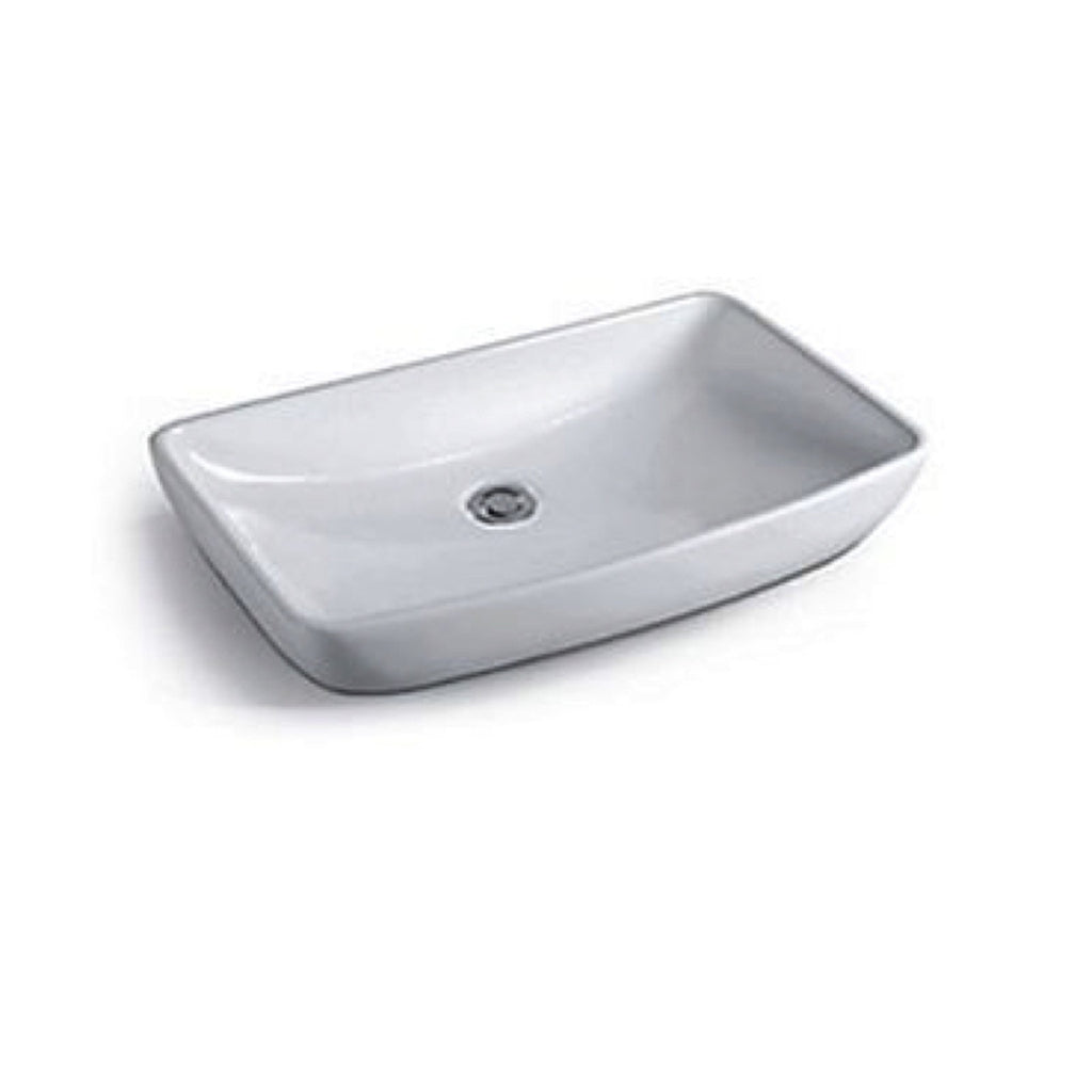 605 x 390 x 130 mm Above Counter Basin