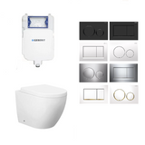 Geberit Voghera Rimless In Wall Toilet Suite Package
