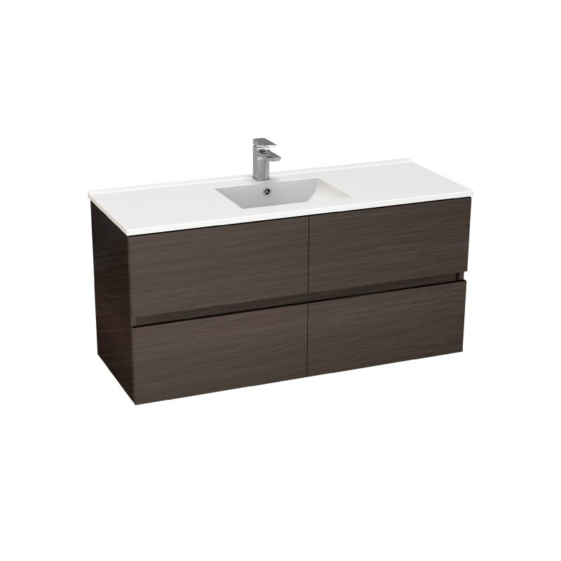 Stella Walnut 1500 Wall Hung Vanity
