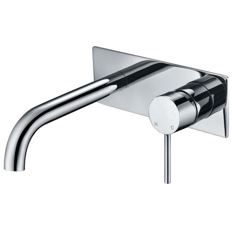Ikon Hali Wall Basin Mixer/Bath Spout