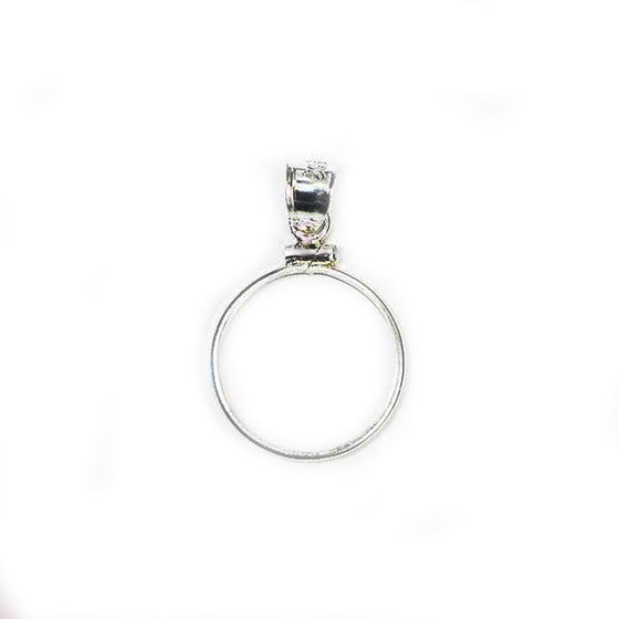 Pendant Setting Sterling Silver Classic (3 sizes)
