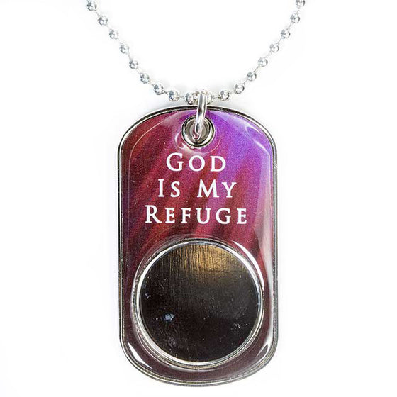 Dog Tag Christian Faith Small (19mm)
