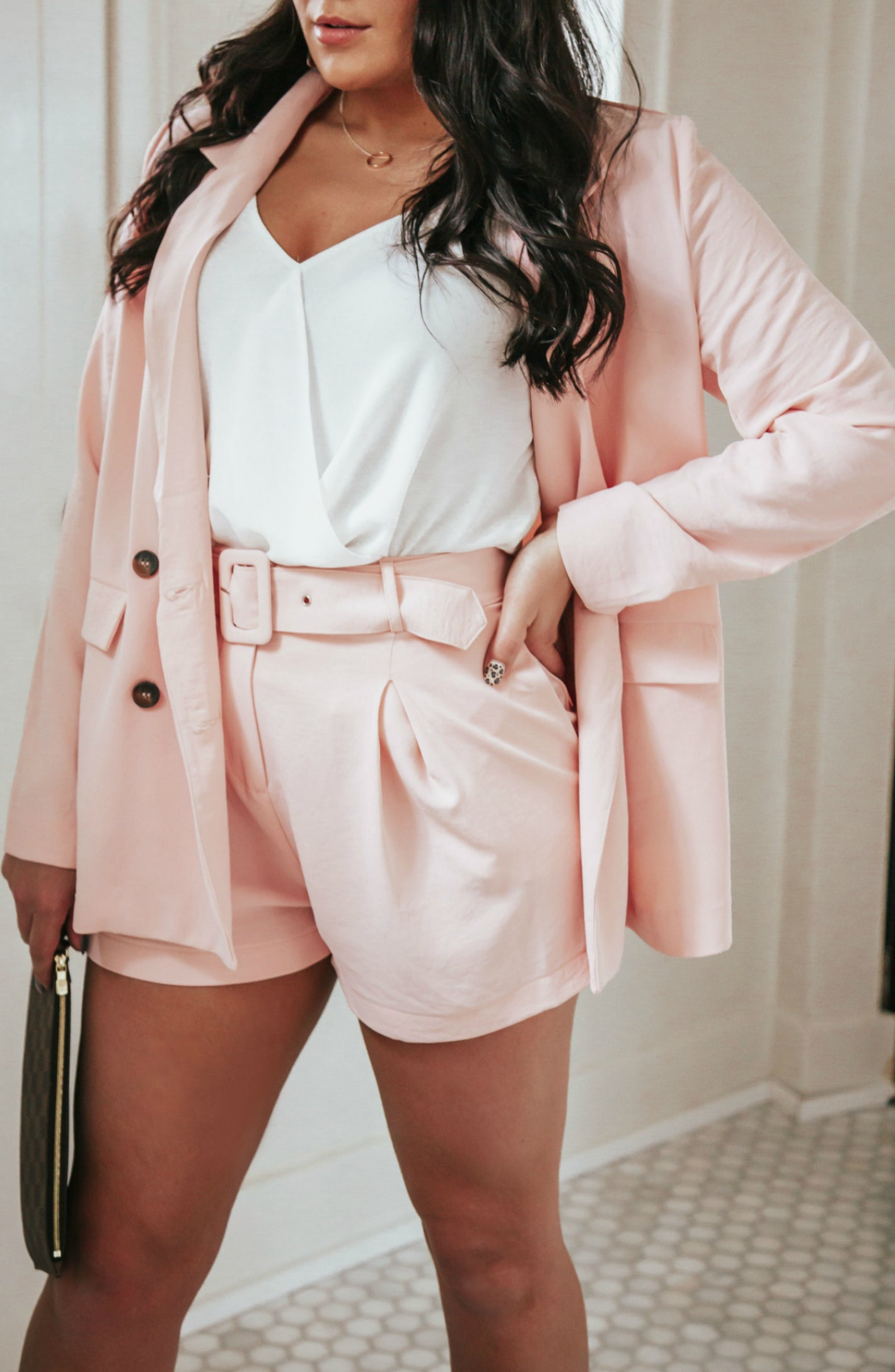 She's Stealing Hearts Double Button Jacket