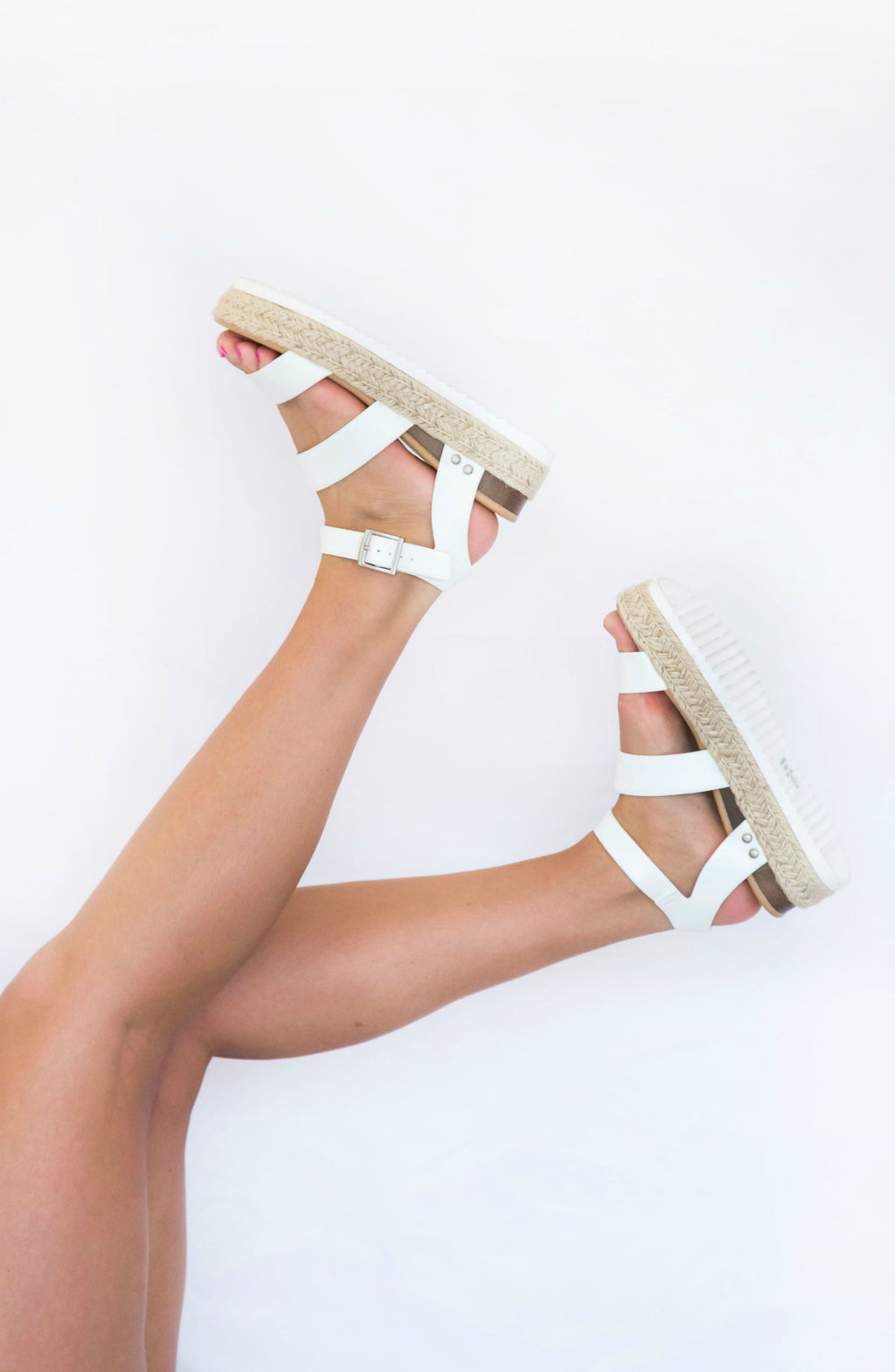 Stand My Ground Platform Sandals- 5 colors