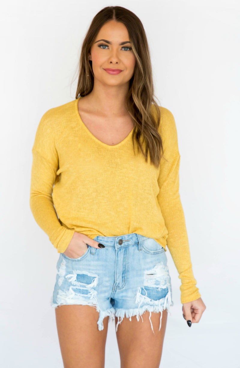 Keep Knit Going Dolman Sleeve Lightweight Sweater - 2 Colors