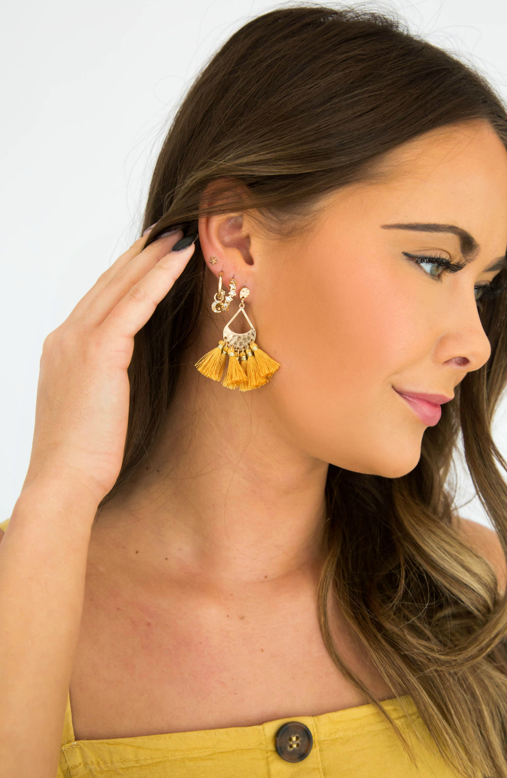 Come And Get It Tassel Earrings- 5 colors
