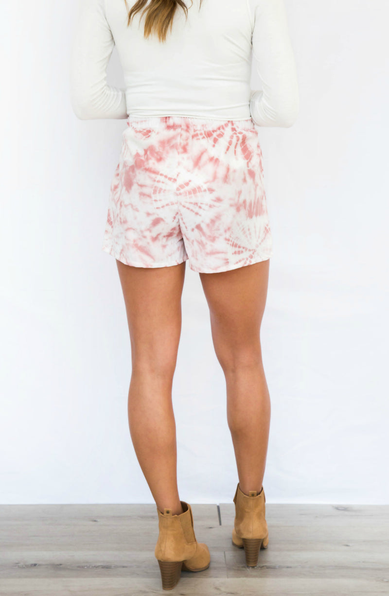 Color Me Cute Tie Dye Shorts- 3 colors