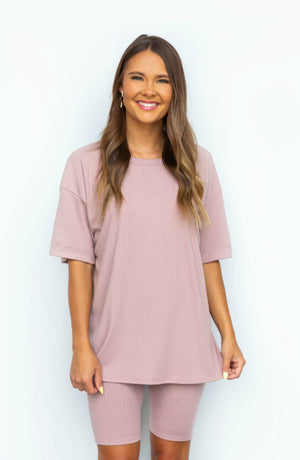Cut Knit Out Ribbed Top- 5 colors