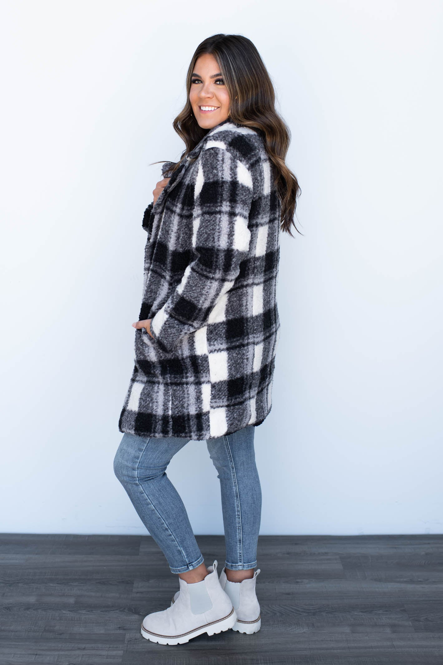 Most Wanted Lace Up Plaid