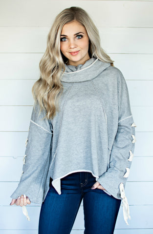 Such A Simple Ordeal Fuzzy Long Sleeve Sweatshirt-2 Colors