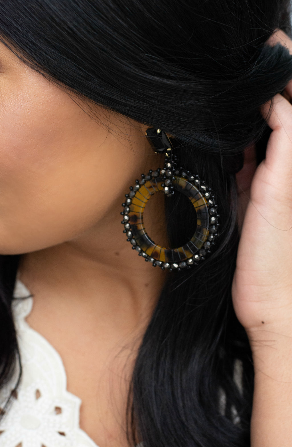 Good Chance Round Bead Earrings