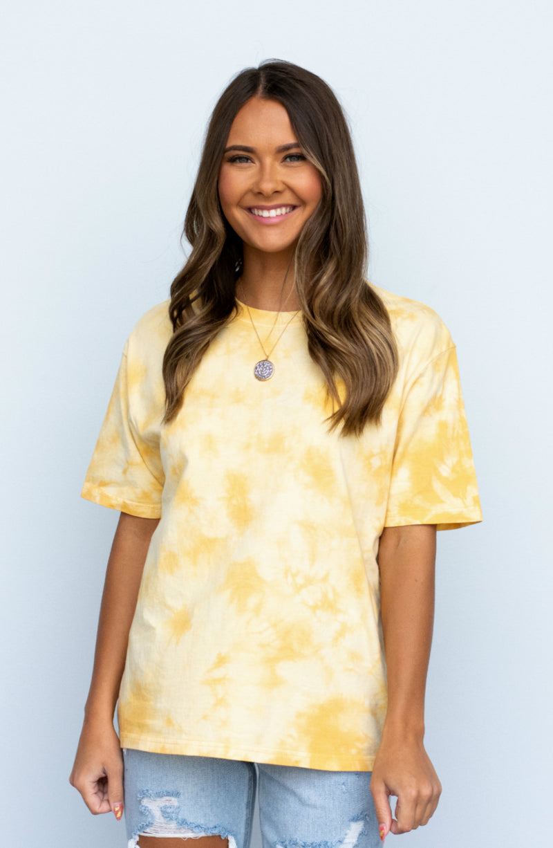 Never Been Better Tie Dye Short Sleeve Tee- 4 Colors