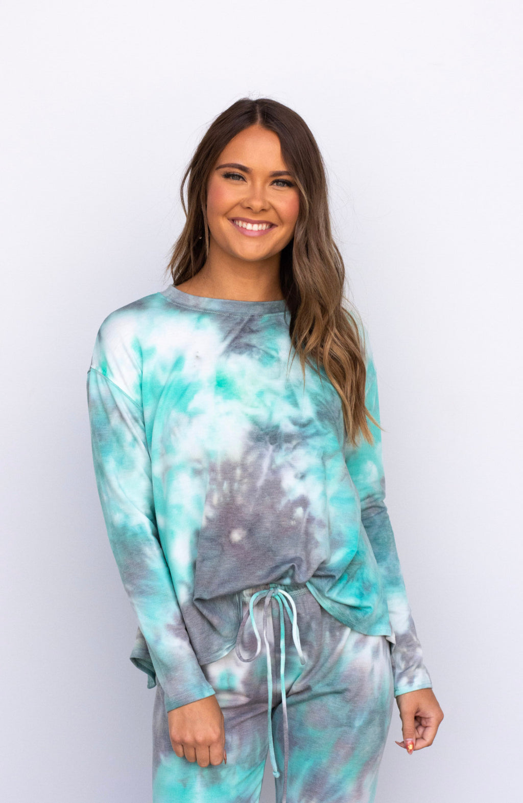 Cool Touch Tie Dye Crew Neck - 2 Colors