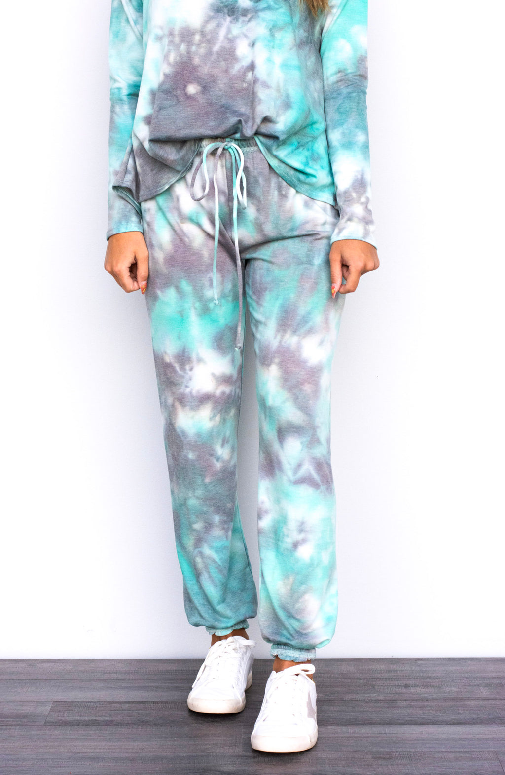 Simple Kind of Love Tie Dyed Sweatpants