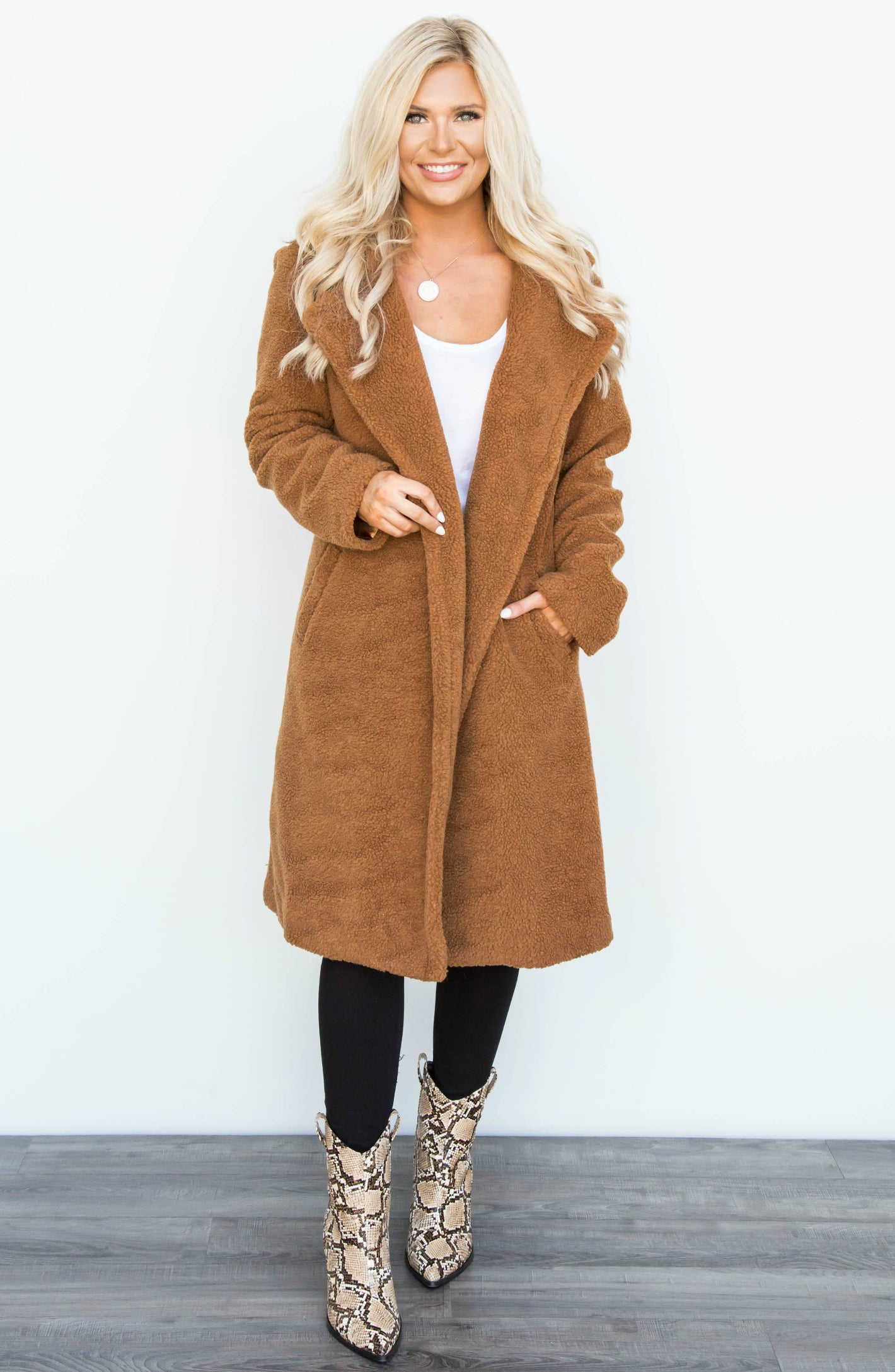 PRE-ORDER: Teddy Girl Teddy Bear Long Jacket