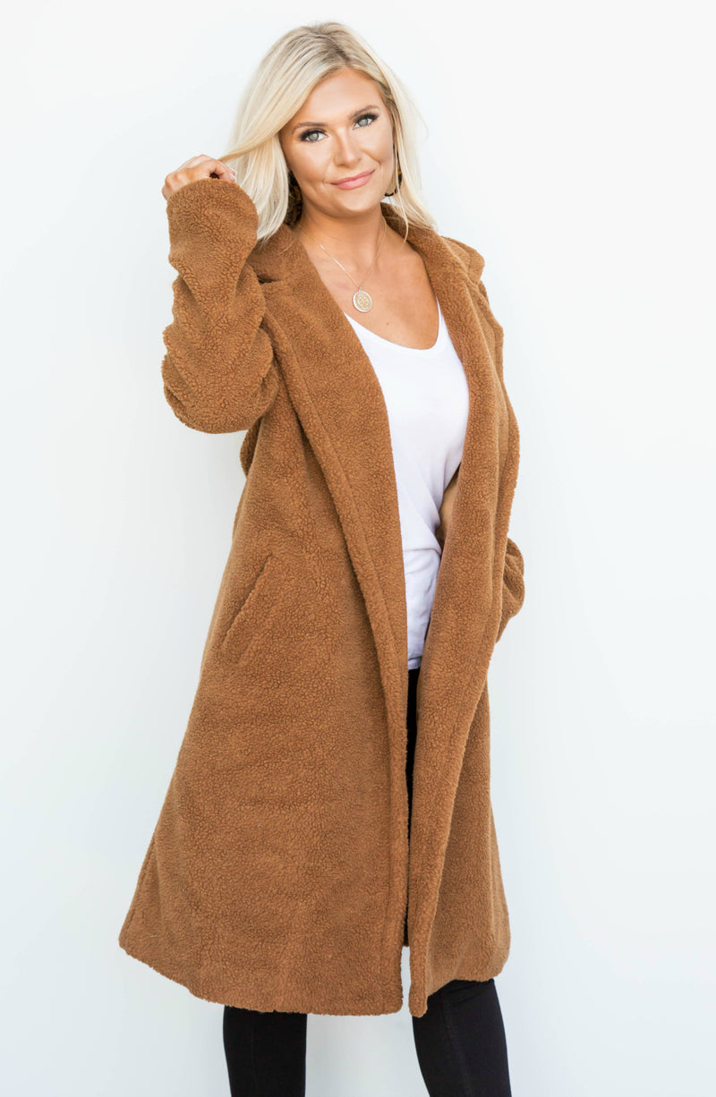 Teddy Girl Teddy Bear Long Jacket