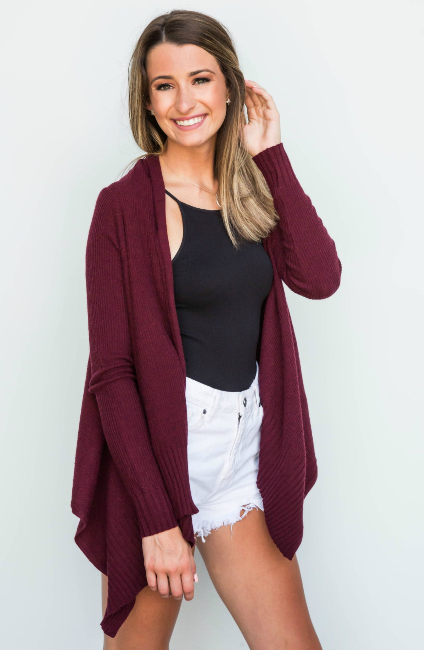 3eb3af49fb7 No Chills Knit Open Front Cardigan - 4 Colors
