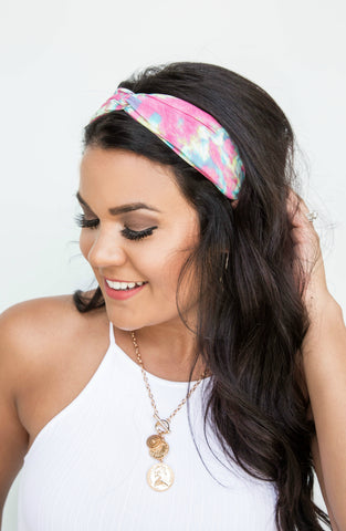 Chic And Charming Velvet Pearl Top Knot Headband - 4 Colors