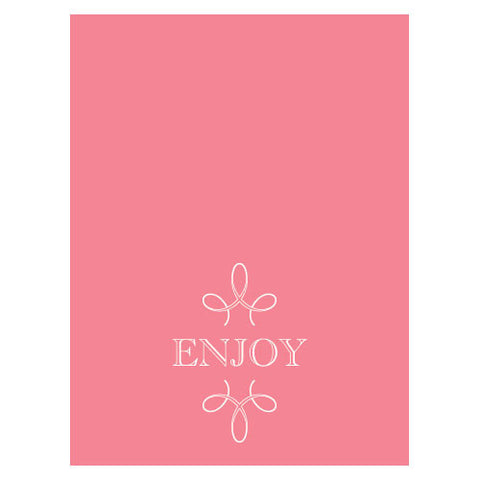 enjoy,thank you, favor, favors, place cards, self-standing, guests, invitations, stationary, tent card, watermelon