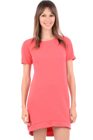 Round Neck T.Shirt Dress