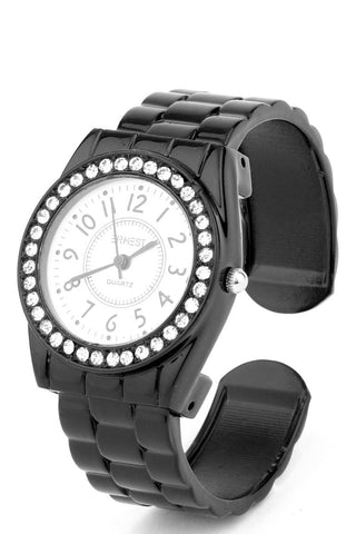 Diamante Face Bracelet Watch