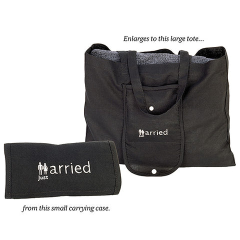 just married, tote bag, bags, honeymoon, cotton, weddings