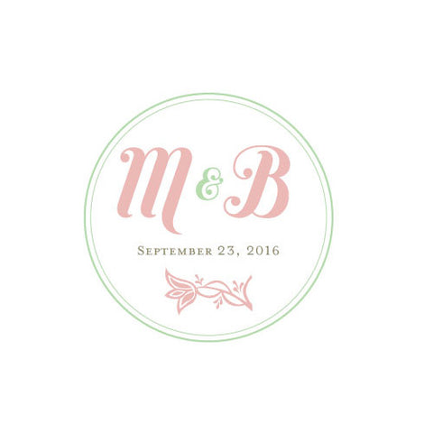 notable, personalize, ring pillows, circle, floral, monogram, pillows, colors, linen, fabric, monogram, pink, vintage pink, weddings, slips