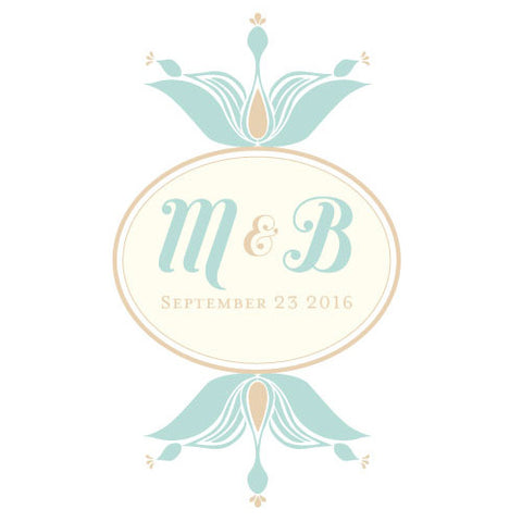notable, personalize, ring pillows, circle, floral, monogram, pillows, colors, linen, fabric, monogram, teal, teal breeze, weddings, slips