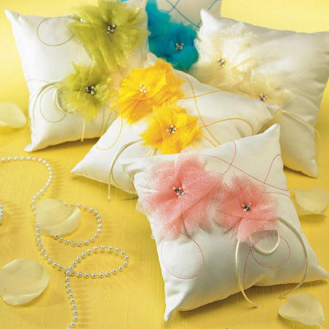 ring pillow, ring bearer, saffron yellow, I do, color, coloring book, organza, crystals, colors, champagne, books, guest books, wedding, reception, wedding reception