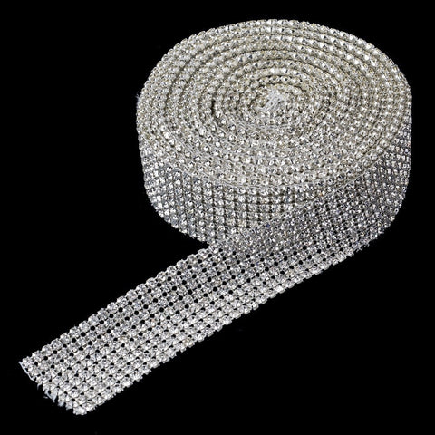 Accessories, Belt, Belts & Sashes, Clear, Reception, Silver