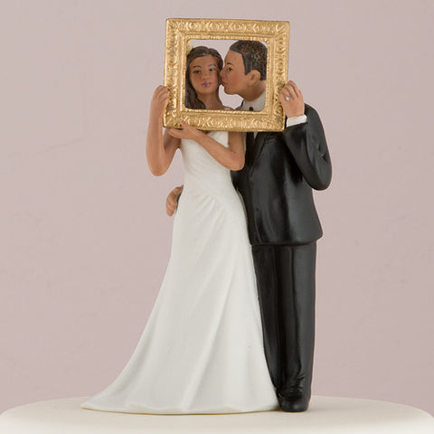 """Picture Perfect"" Couple Figurine Medium Skin Tone"