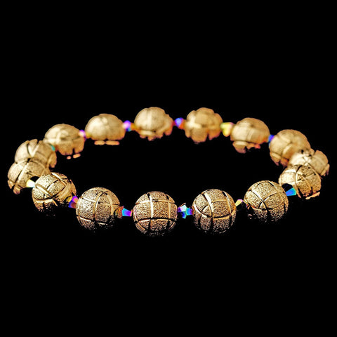 Bracelet, Crystals, Gold, Jewelry, Multi, Sale, Stones, Stretch, Swarovski Crystal Beads