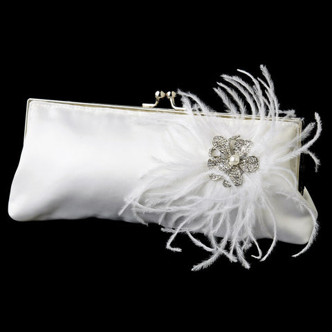 Accessories, Ceremony, Ivory, Purse, Reception, White